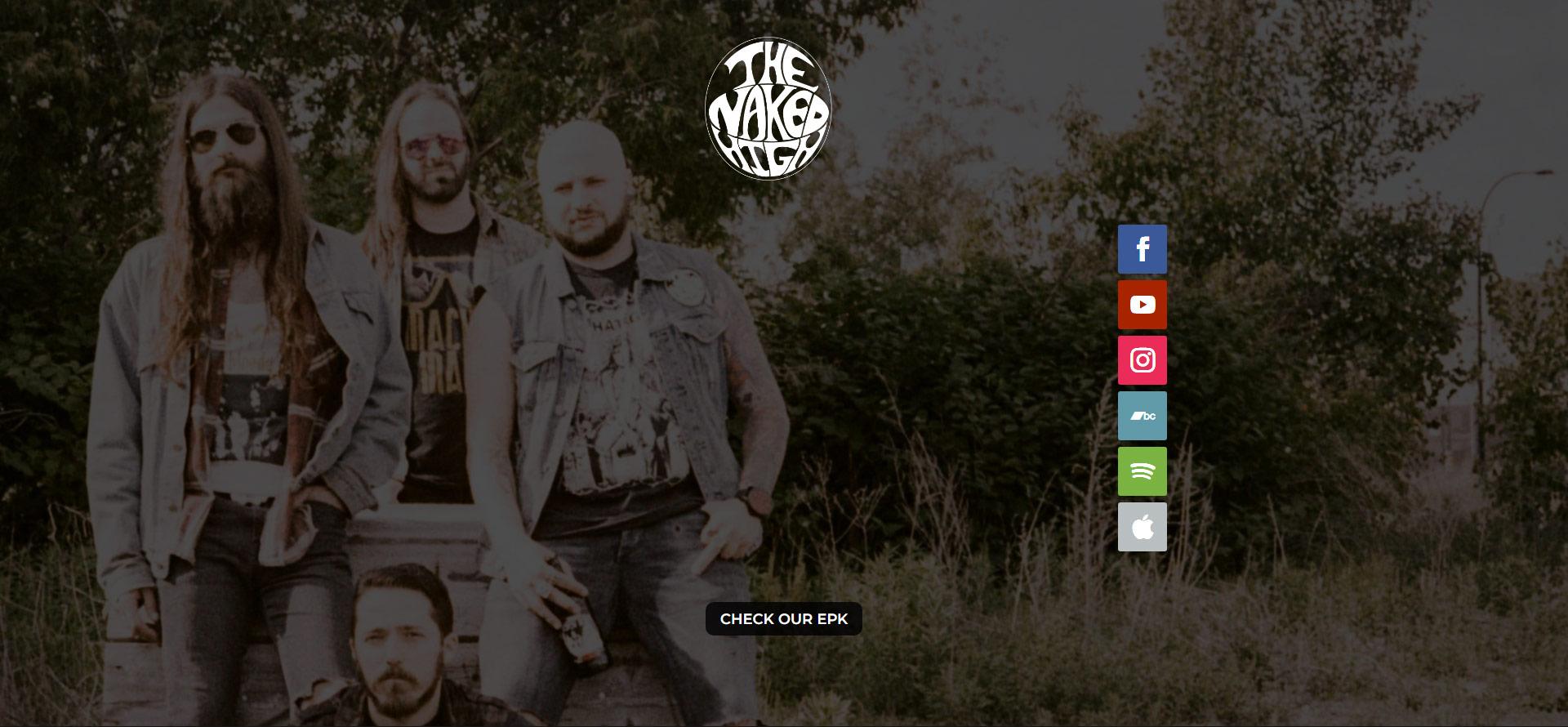 Capture d'écran Site web Gorguts